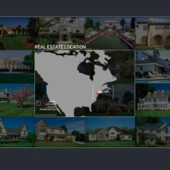 Real Estate Agency Flash Intro Template