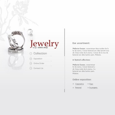 Jewelry SWiSH Template