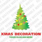 Christmas Logo Template