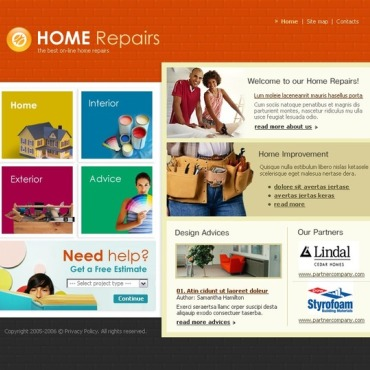 Home Repairs SWiSH Template