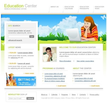 Education SWiSH Template