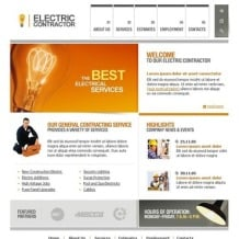 Lighting & Electricity SWiSH Template
