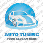 Car Tuning Logo Template