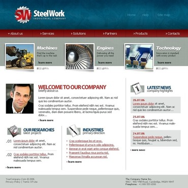 Steelworks SWiSH Template