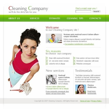 Cleaning SWiSH Template