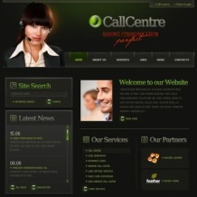 Call Center Flash Template