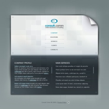 Consulting Flash Template
