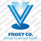 Frozen Food Logo Template