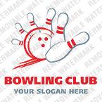 Bowling Logo Template