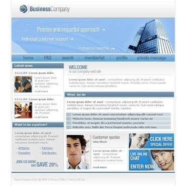 Business PhpBB Template