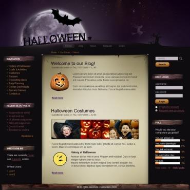 Halloween Drupal Template