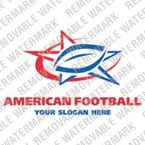 Football Logo Template