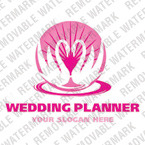 Wedding Planner Logo Template