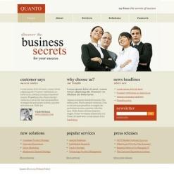 Business PSD Template