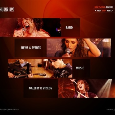 Music Band Flash Template