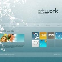 Web Design SWiSH Template