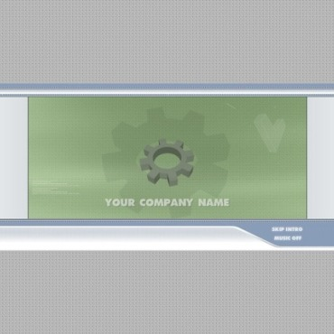 Hosting Flash Intro Template