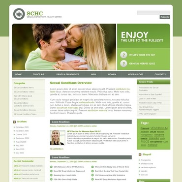 Reproduction Clinic WordPress Theme