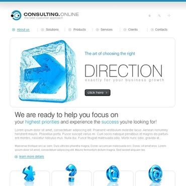 Consulting Turnkey Website 1.0