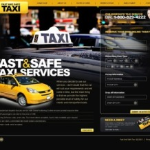 Taxi Flash Template