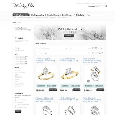 Wedding Shop Magento Theme