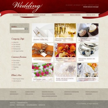 Wedding Shop Magento Theme