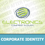 Electronics Corporate Identity Template