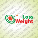 Weight Loss Logo Template