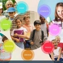 Kids Center Flash Template