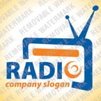 Radio Website Logo Template