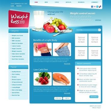 Weight Loss Website Template