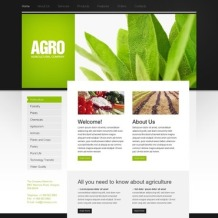 Agriculture Turnkey Website 2.0