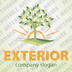 Exterior Design Logo Template