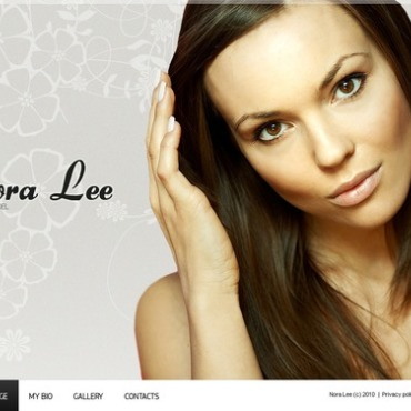 Model Portfolio Flash Template