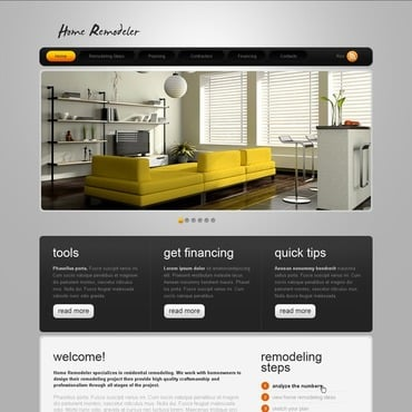 Home Remodeling Website Template