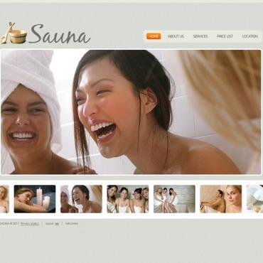Sauna Flash Template