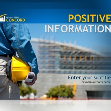 Construction Company PowerPoint Template