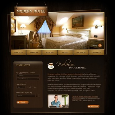 Hotels SWiSH Template