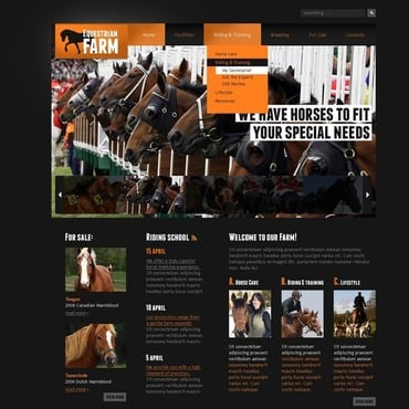 Horse Website Template