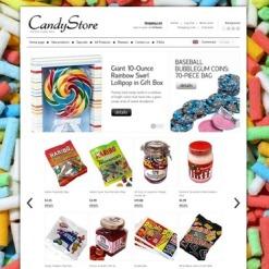 Sweet Shop ZenCart Template