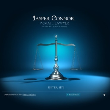Lawyer Facebook Flash Template