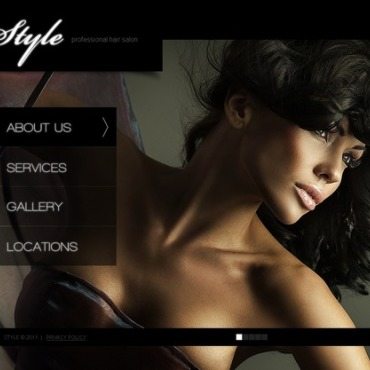 Hair Salon Flash Template