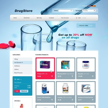 Drug Store PrestaShop Theme