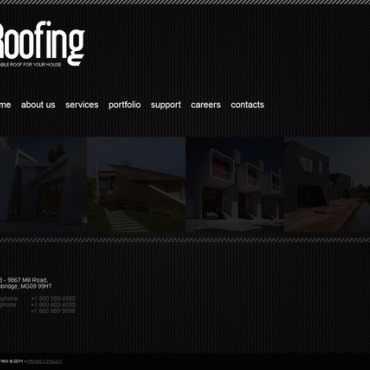 Roofing Company Joomla Template