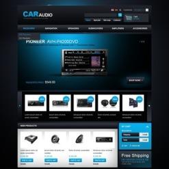 Car Audio Facebook Flash Template