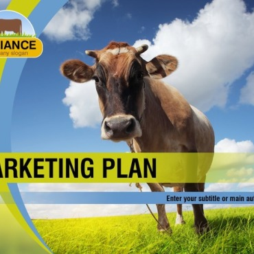 Cattle Farm PowerPoint Template
