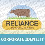 Cattle Farm Corporate Identity Template