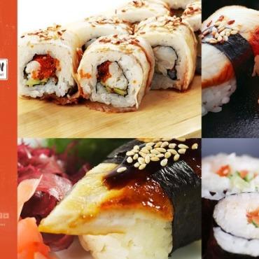 Sushi Bar Flash Template