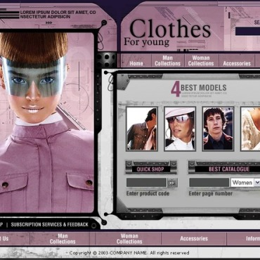 Fashion Flash Template