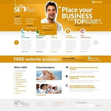 SEO Website Website Template